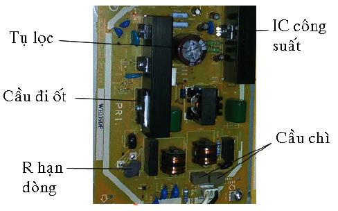 Khối nguồn của Tivi - LCD (Phần 8)