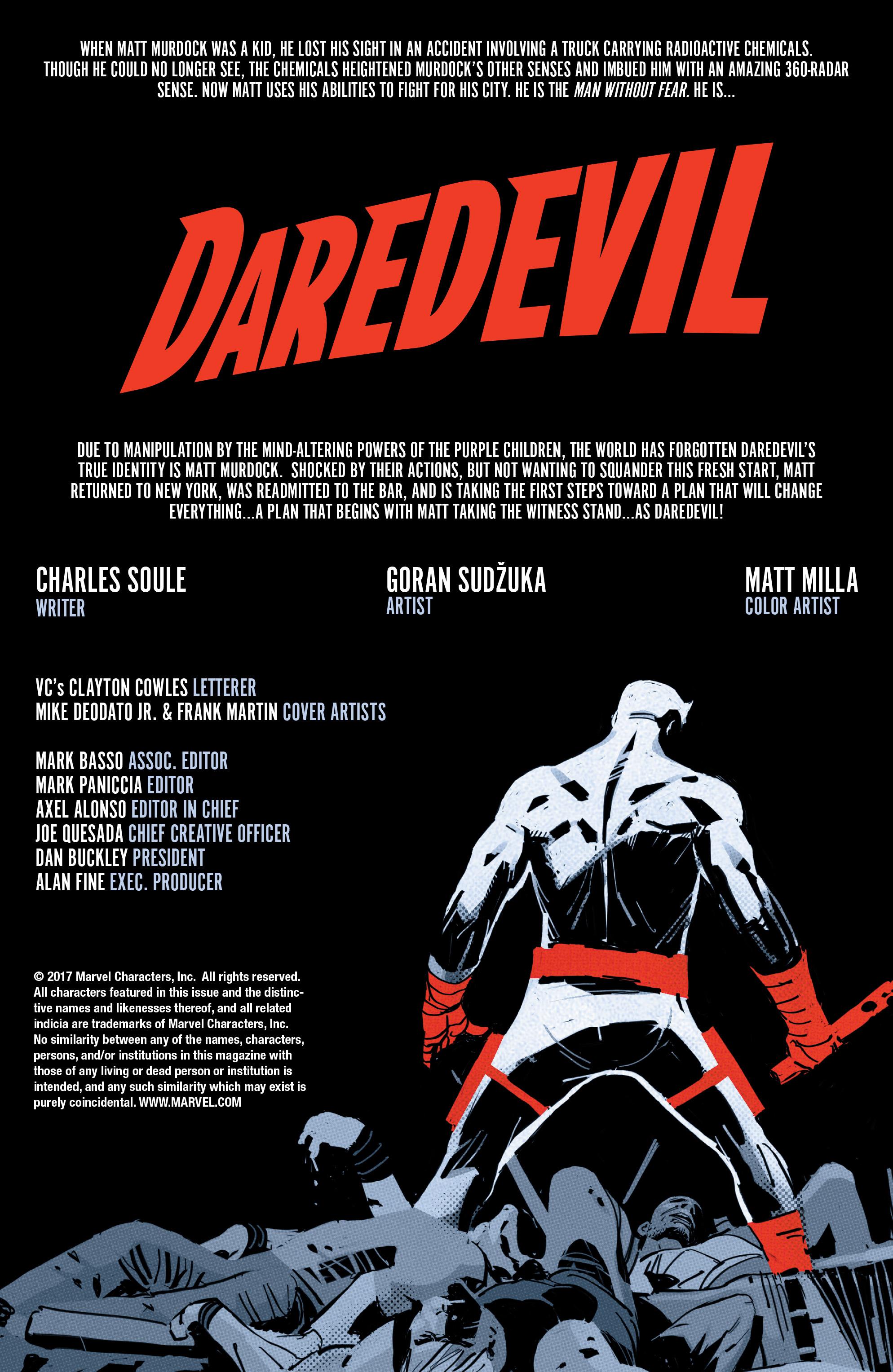 Read online Daredevil (2016) comic -  Issue #22 - 2