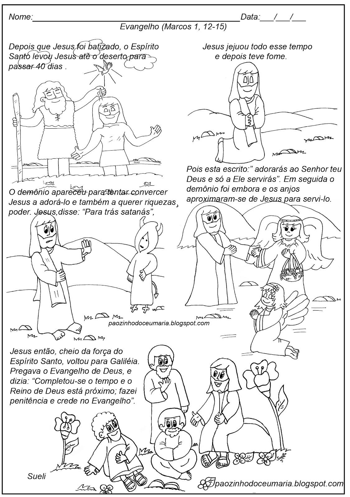 Pãozinho Do Céu: Jesus No Deserto