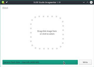 Membuat Bootable Flashdisk Menggunakan Suse Studia ImageWriter
