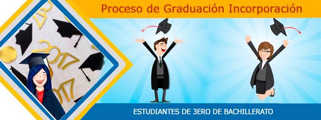 graduacion incorporacion bachilleres ecuador 2017