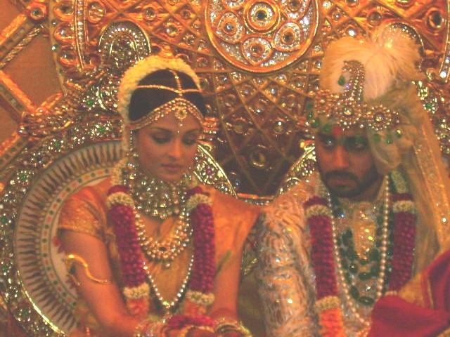 Aishwarya Rai and Abhishek Bachhan Wedding