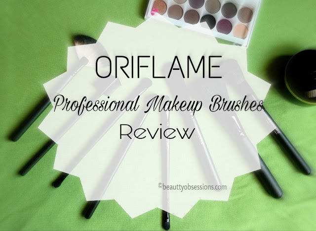 Oriflame Professional Makeup Brushes Review...