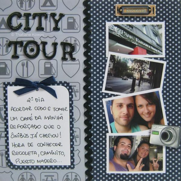 página álbum scrapbook