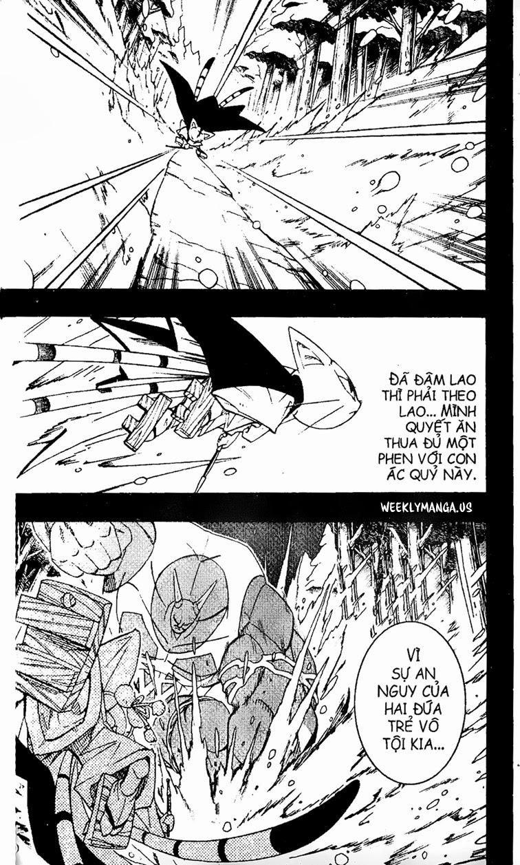 Shaman King [Vua pháp thuật] chap 172 trang 9