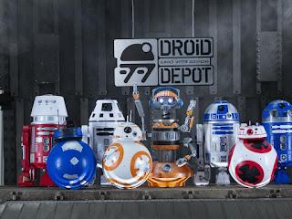 Droid Depot, Disneyland, Galaxy's Edge