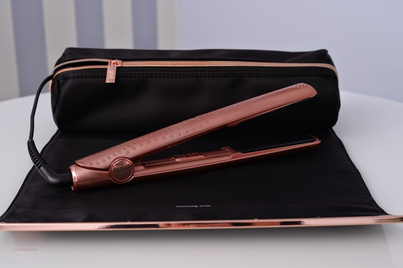 ghd V rose gold classic styler