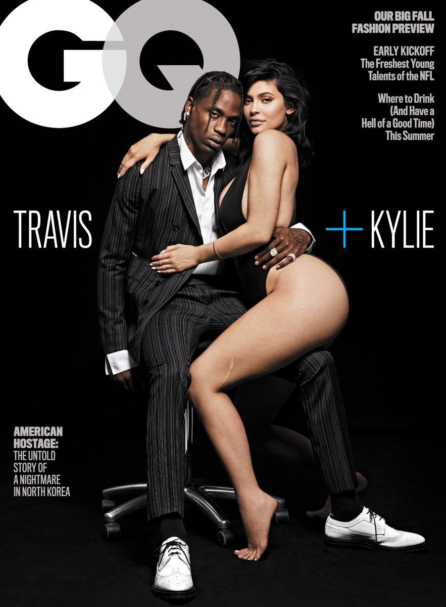 Travis and Kylie get sexy for GQ Magazine
