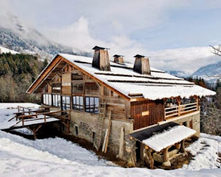 Impressive Design Unique wooden house in Alps