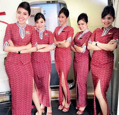 foto pramugari lion air