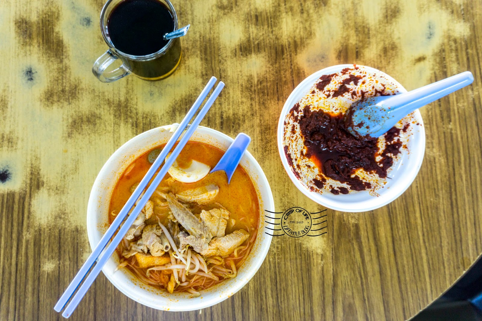 Curry noodle in Alor Setar Lai Huat