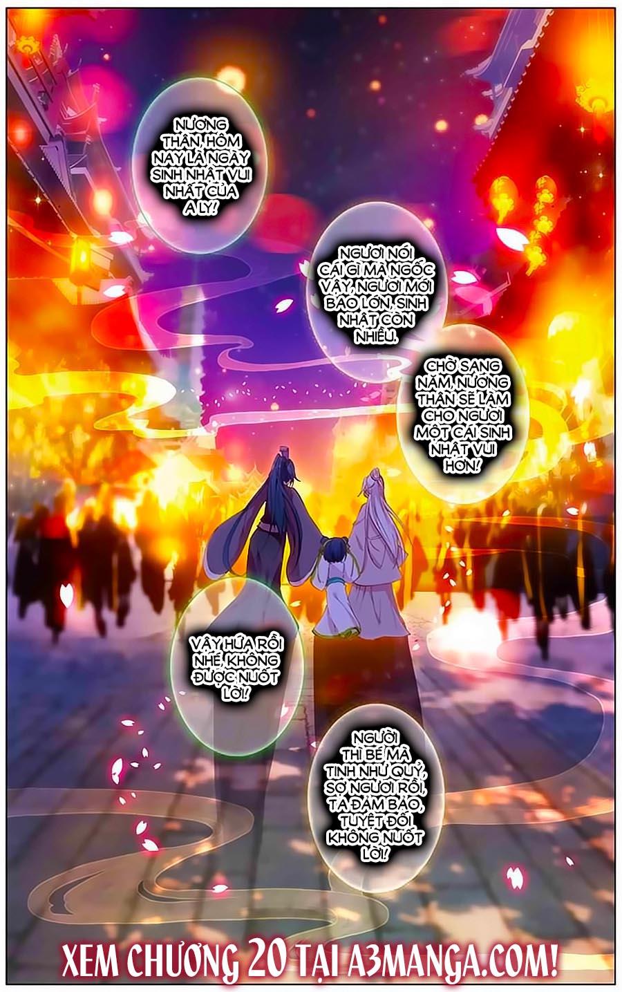 Tam Sinh Tam Thế – Thập Lý Đào Hoa – Chap 19.3