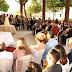 Pavilhão do Chá é palco para cerimônia de casamento coletivo de 28 casais
