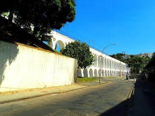 Arcos da Lapa em Direção ao Bairro Santa Teresa - Rio de Janeiro