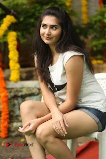 Actress Vyoma Nandi  Pictures in Shorts at Haritha Haram Event  0119.JPG