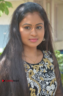 Tamil Actress Shreya Sri Stills in Black Akarkali Dress at Vanga Vanga Team Interview  0003.jpg