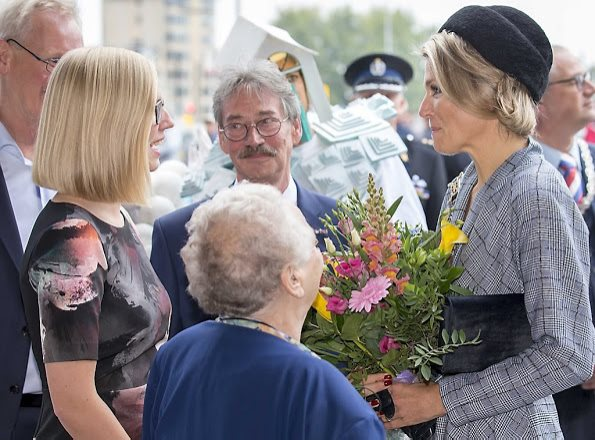 Queen Maxima Attended The National Huurdersdag Celebrations