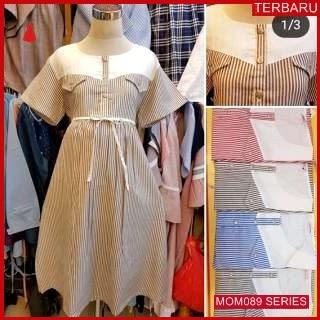 MOM089D22 Dress Hamil Menyusui Modis Suzy Dresshamil Ibu Hamil