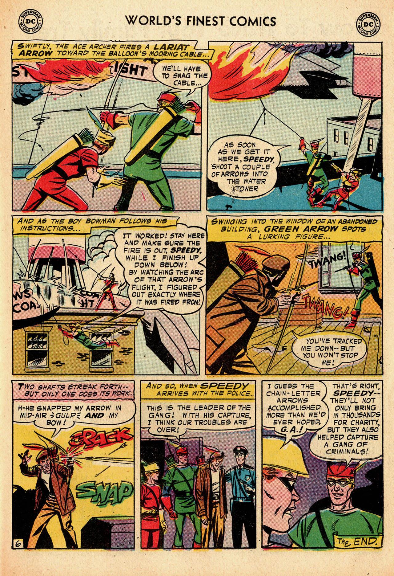 Read online World's Finest Comics comic -  Issue #91 - 23