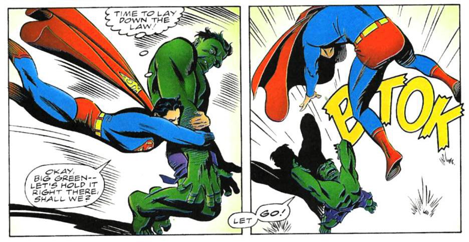 The Incredible Hulk vs. Superman By Roger Stern, Steve Rude, Al Milgrom, Jim Novak, Steve Oliff.