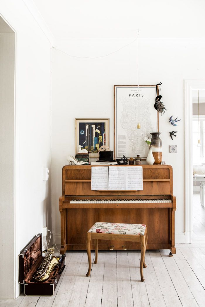 Decorate Small Living Room For Christmas Green Paint Ideas La Fabrique à Déco: Des Instruments De Musique Dans ...