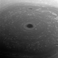 Saturn's north pole