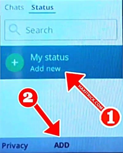 जियो फोन में व्हाट्सएप स्टेटस कैसे लगाएं