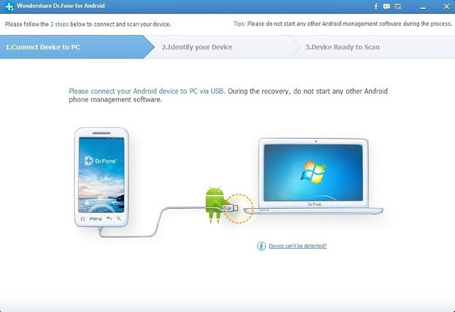 Restore-deleted-in-Android-phones-using-the-program-Dr.Fone