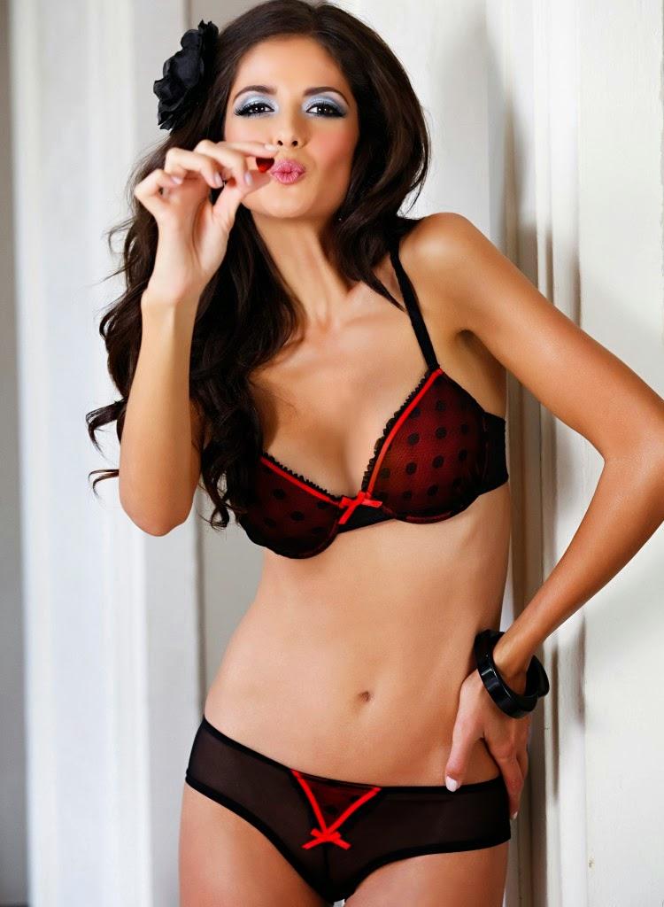 Carla Ossa Sexy Bonprix Lingerie Models - Lingerie Models-9801