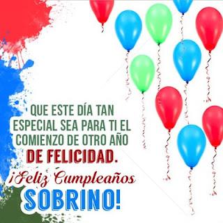 Imagenes de Feliz Cumpleaños Sobrino, Frases De Cumpleaños Sobrino