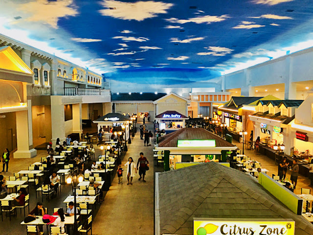 Food Central at JCentre Mall is a Venetian inspired food court situated on the 3rd level of JCentre Mall in Mandaue City Cebu