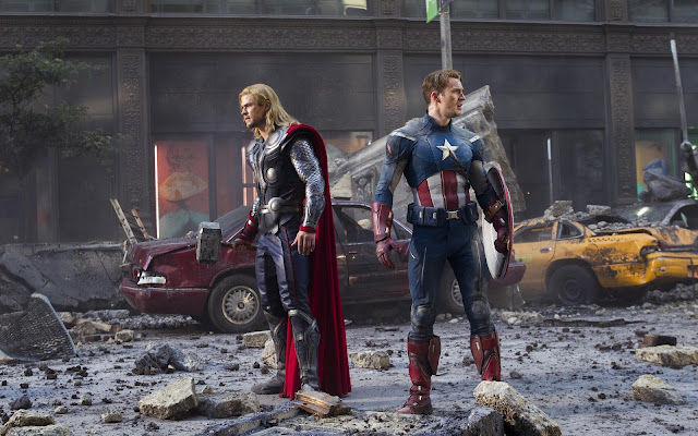 The Avengers Captain America y Thor