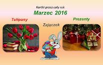 Kartki - marzec 2016