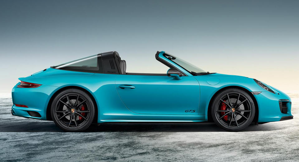Porsche 911 Targa 4 Gts Sportdesign Looks Every Bit The