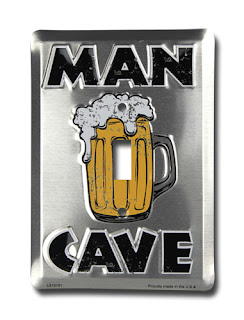 man cave light switch cover