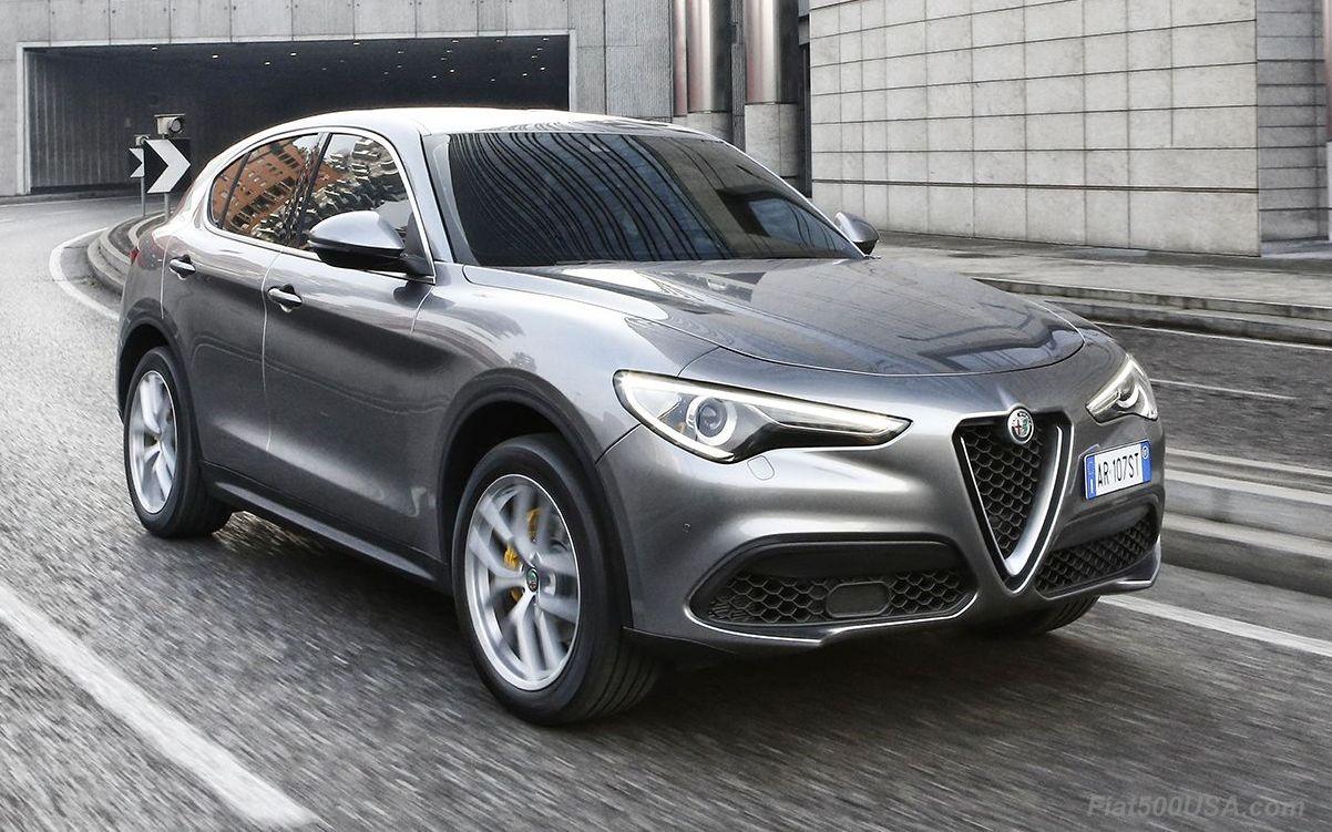 Alfa Romeo Stelvio Lineup Debuts In NY