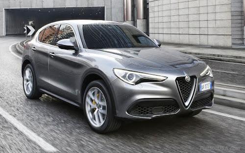 Alfa Stelvio Grey