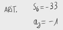 14. Términos de una progresión aritmética a partir del segundo y la suma