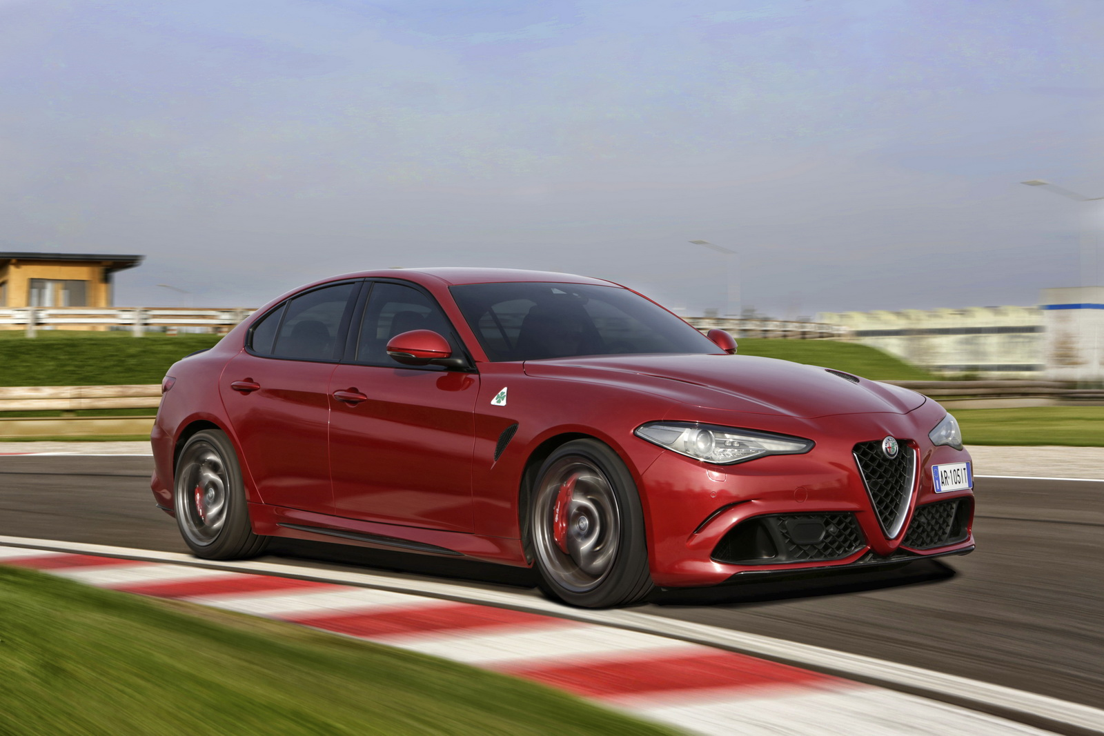 2018 alfa romeo giulia quadrifoglio rises in price by 1 500 carscoops. Black Bedroom Furniture Sets. Home Design Ideas