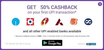 PhonePe App – Get 50% Cashback