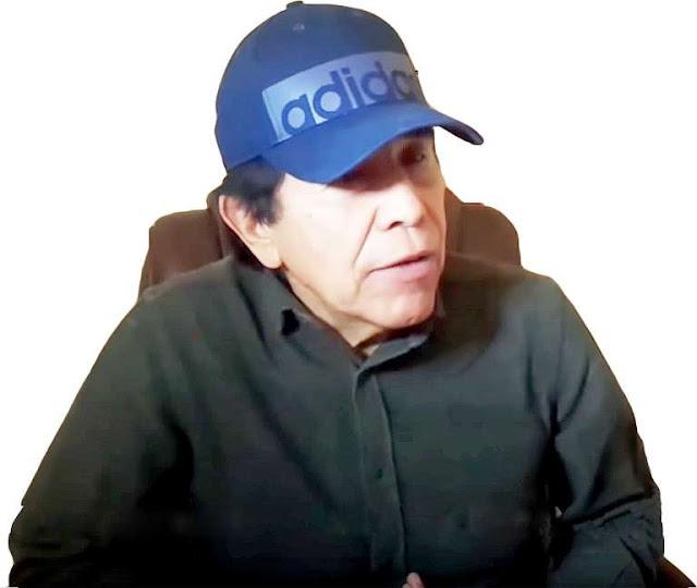 """""""A donde llego me dan de comer, y batallándole mucho, porque no traigo dinero"""", dice Caro Quintero"""