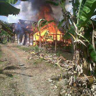 Kebakaran di karangrayung Grobogan
