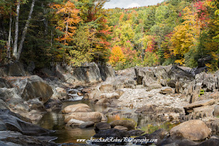 Coos Canyon cascades Maine waterfalls Rocky Gorge Natural Wonders Maine