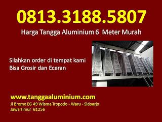 Harga tangga aluminium 6 meter murah