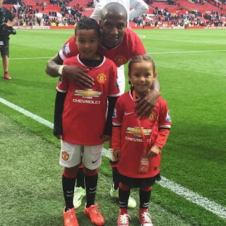 Kids Of Ashley Young
