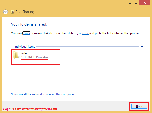 Cara Mudah Sharing File di Windows 8