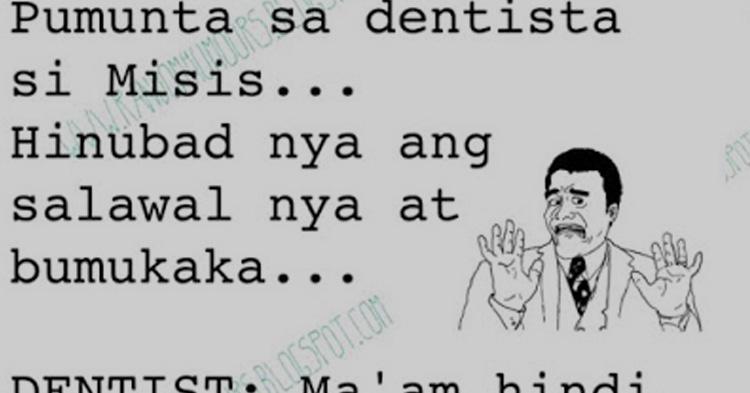 Pumunta sa dentista si Misis