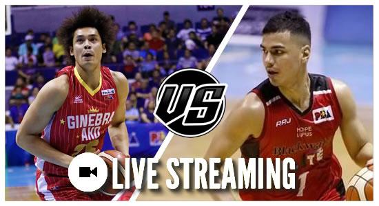 Live Streaming List: Barangay Ginebra San Miguel vs Blackwater Elite 2019 PBA Philippine Cup