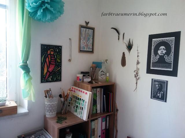 Malerei-Acryl-Atelier-Ausstattung