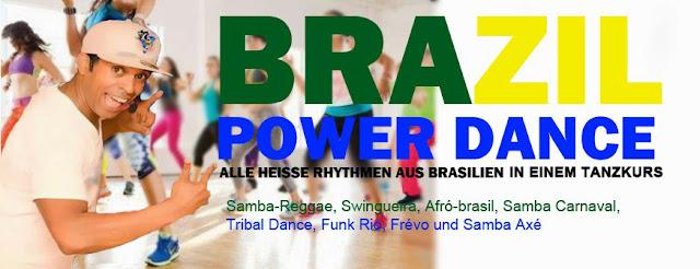 Brasil Power Dance Tanzkurs in Berlin